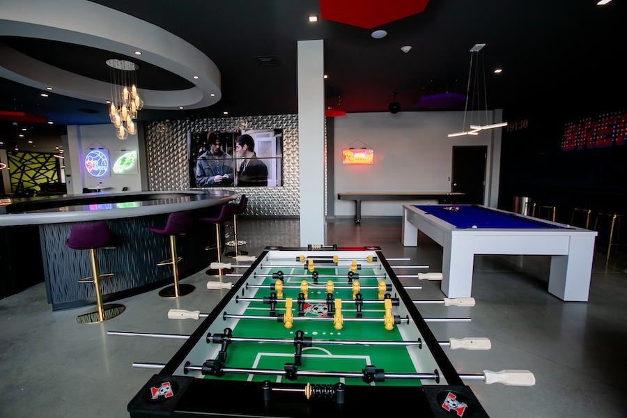 the hub at 31 brewerytown apartment profile bar and game room