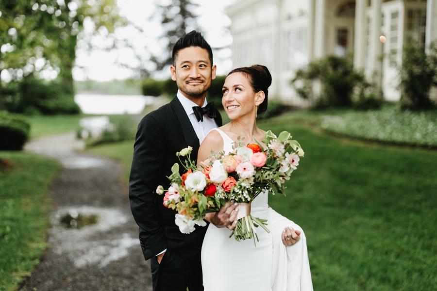 Philadelphia bride and groom