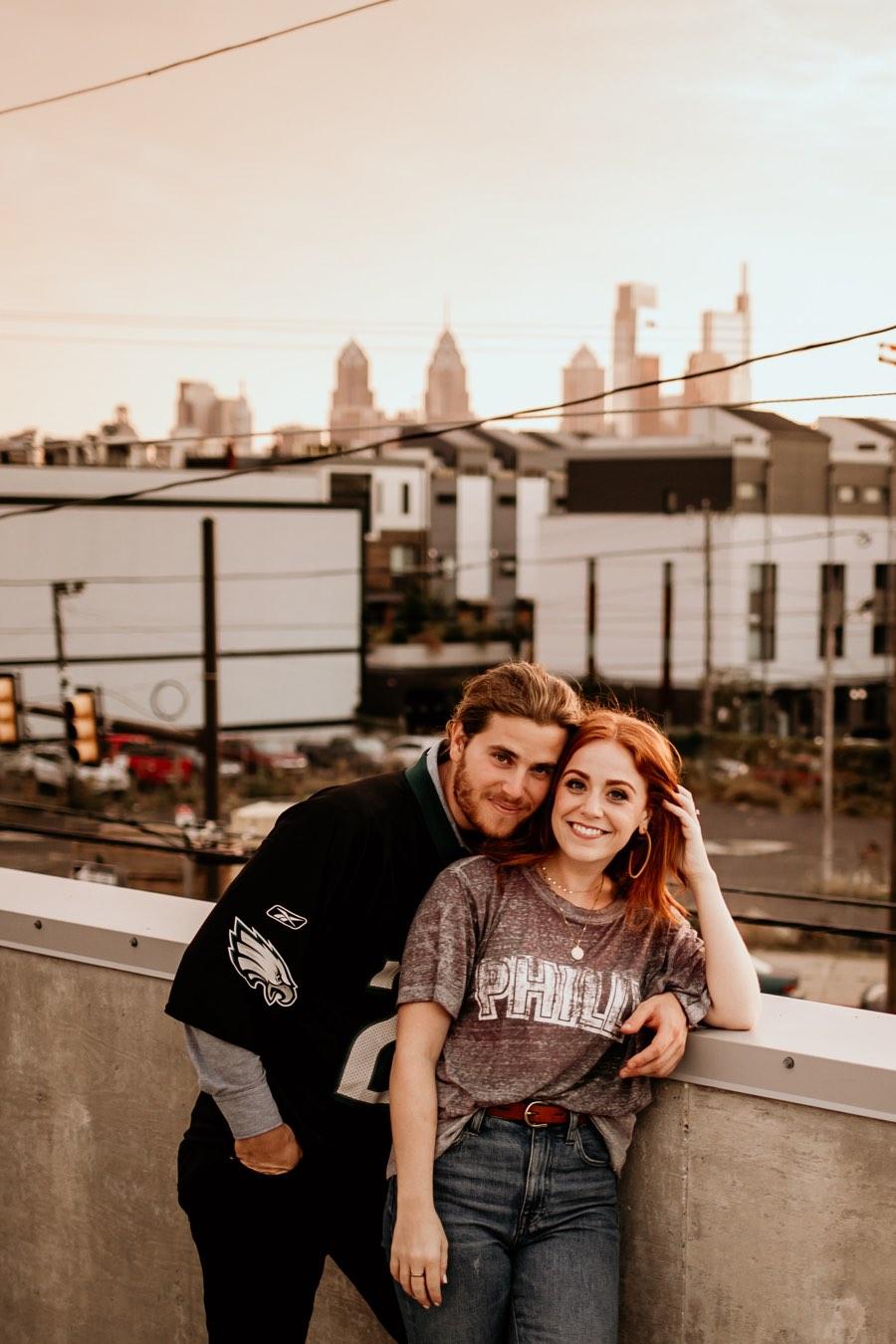 Fishtown engagement shoot