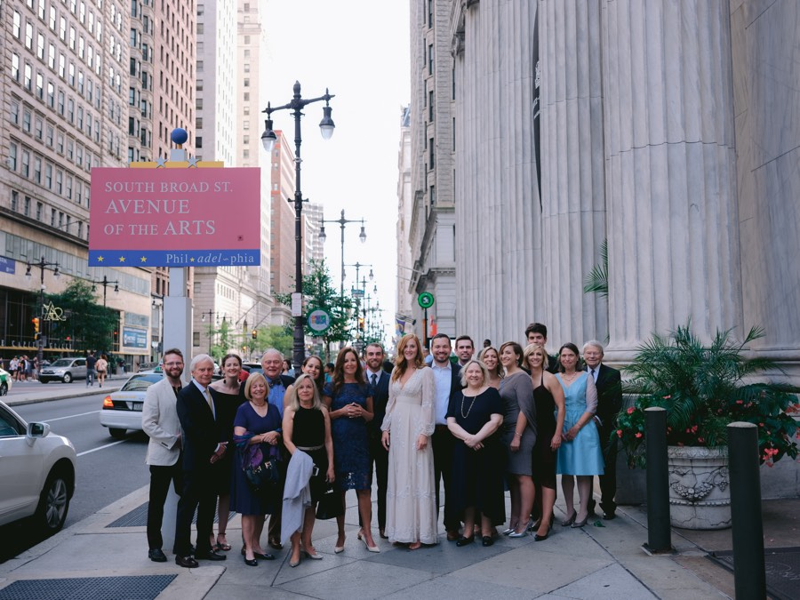 Philadelphia bridal party