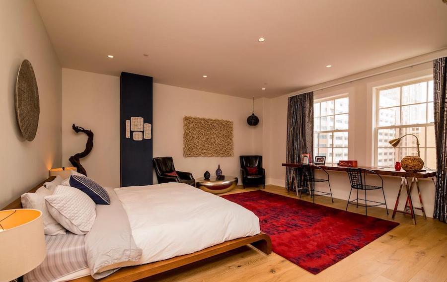 rittenhouse square allison penthouse master bedroom