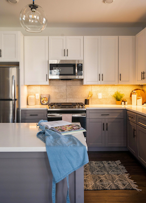 arlo model 2br kitchen