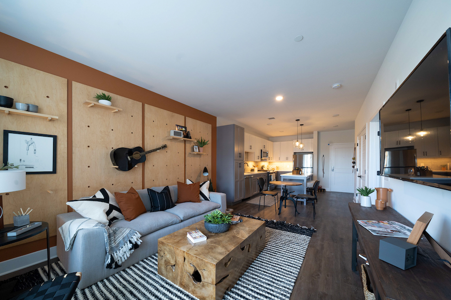 arlo model 2br main living area