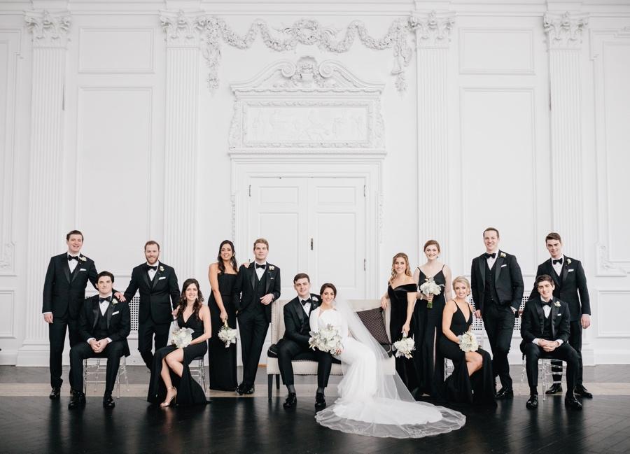 black-bridesmaid-dresses