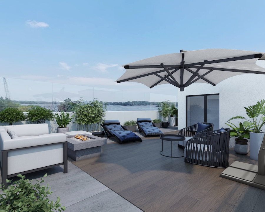 callowhill court roof deck