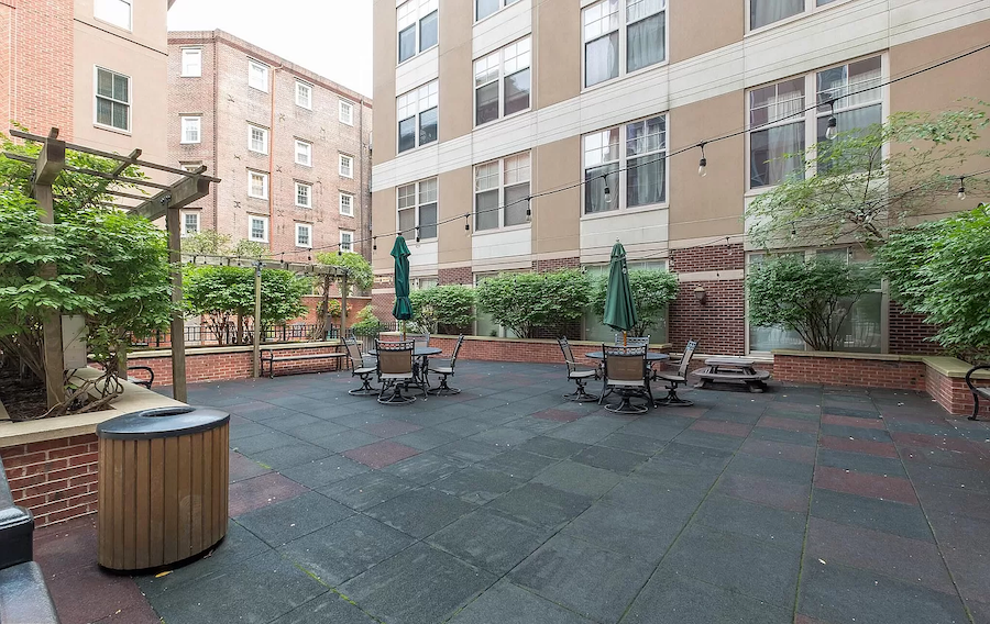 condo for sale old city national bi-level townhouse deck