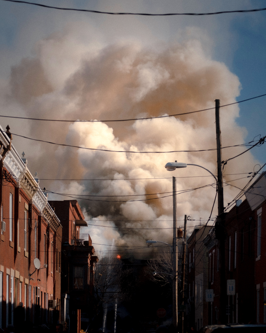 south philly rowhouse fire