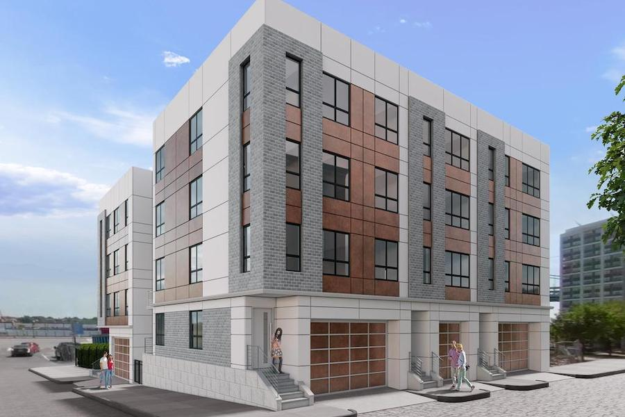 callowhill court exterior rendering
