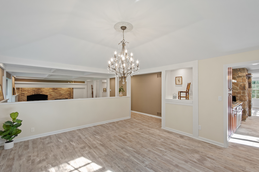cherry hill grube residence dining room
