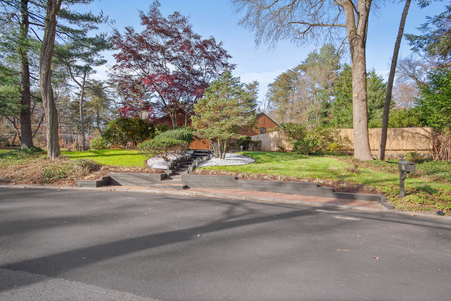 house for sale cherry hill grube residence front elevation