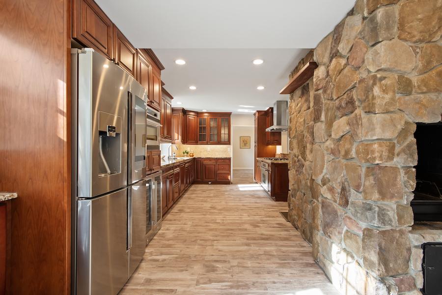 cherry hill grube residence kitchen