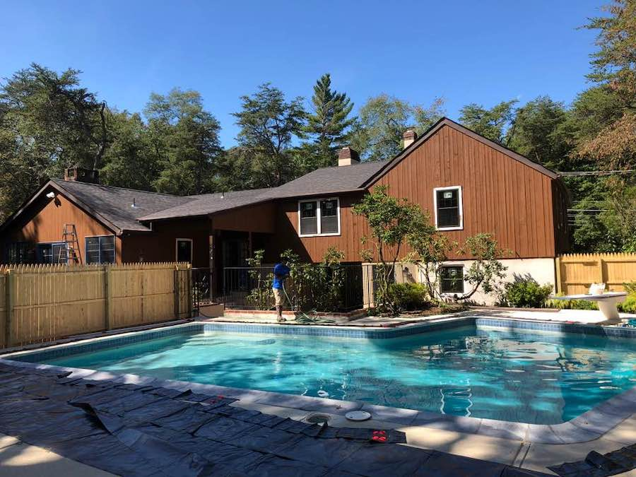 house for sale cherry hill grube residence pool