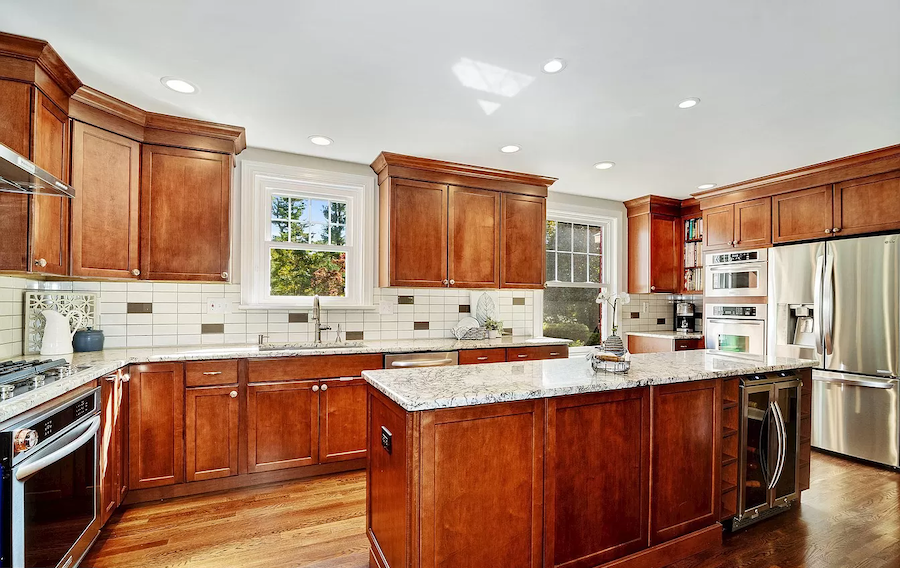 house for sale moorestown expanded cape kitchen