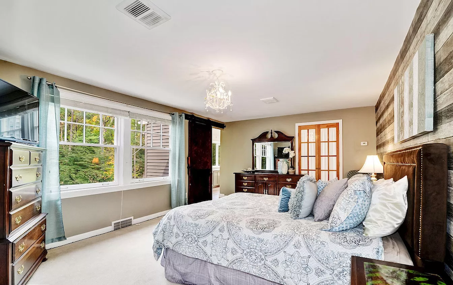 moorestown expanded cape master bedroom