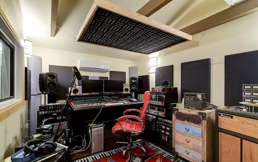 moorestown expanded cape studio mixing board