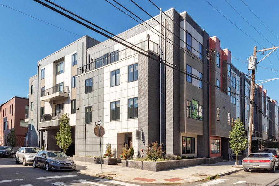 house for sale northern liberties modern townhouse exterior