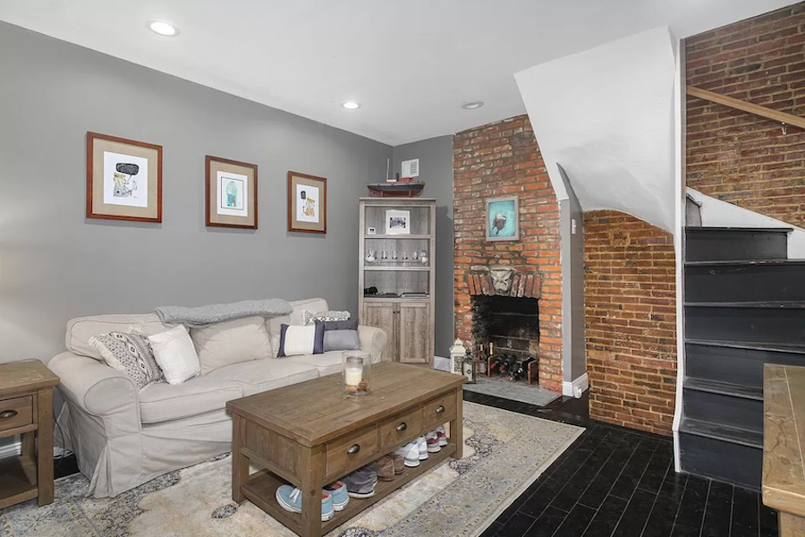 house for sale northern liberties renovated trinity living room
