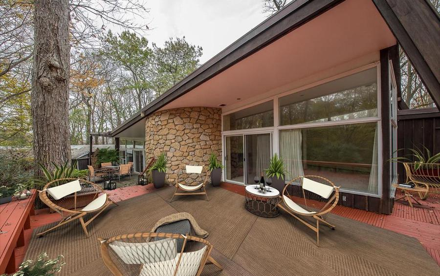 penn valley midcentury modern deck