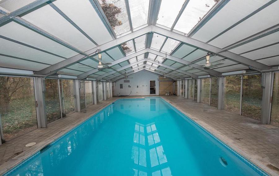 penn valley midcentury modern indoor pool