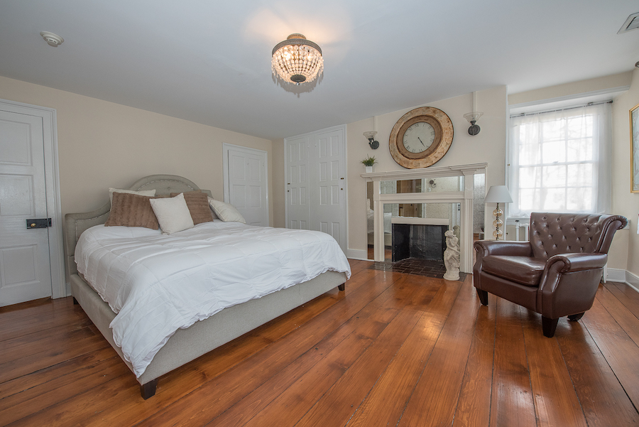 house for sale plymouth meeting cook-livezey house master bedroom