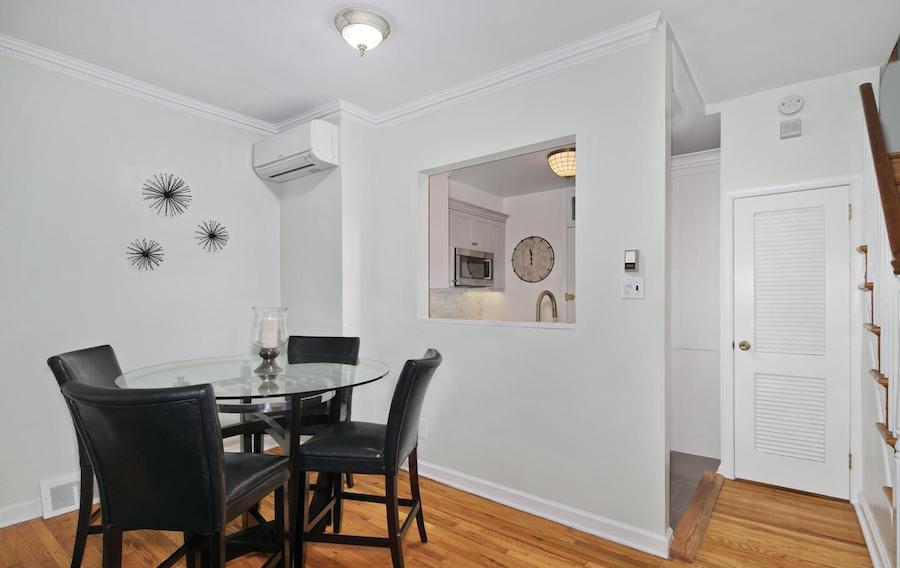 house for sale rittenhouse addison street townhouse dining room
