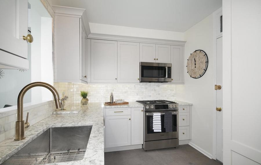 house for sale rittenhouse addison street townhouse kitchen