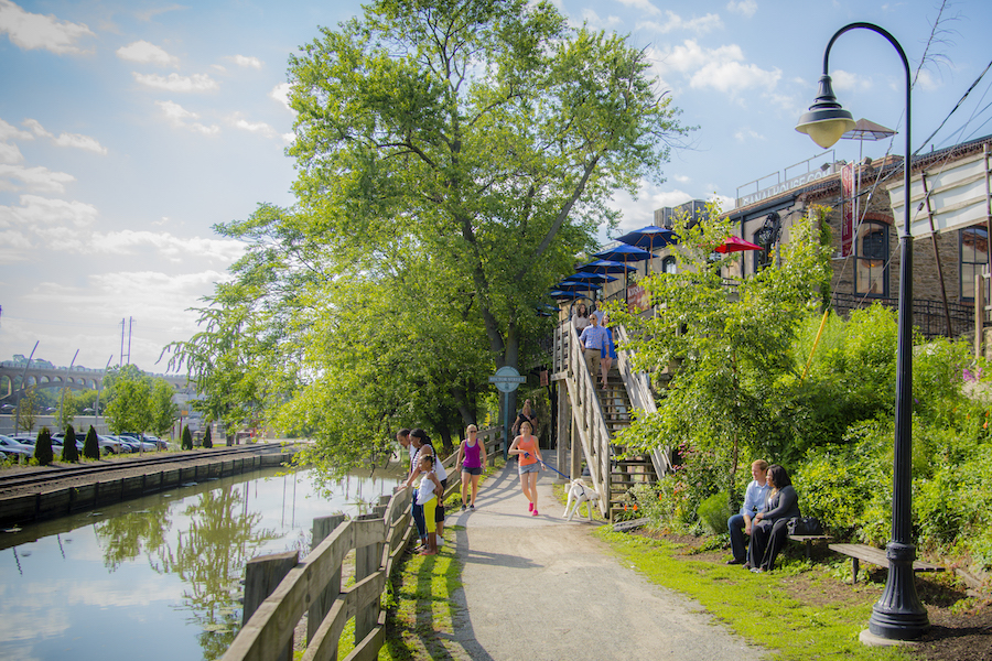 manayunk neighborhood guide manayunk canal
