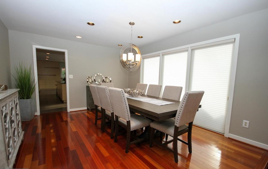 newtown square contemporary formal dining room