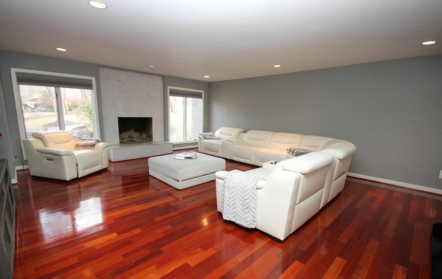 newtown square contemporary family room