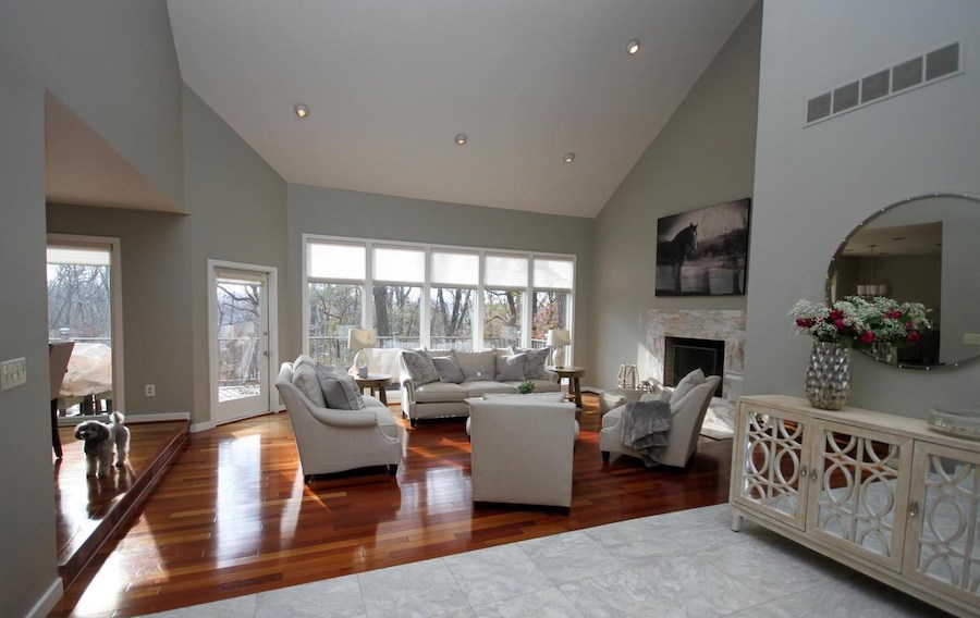 house for sale newtown square contemporary living room