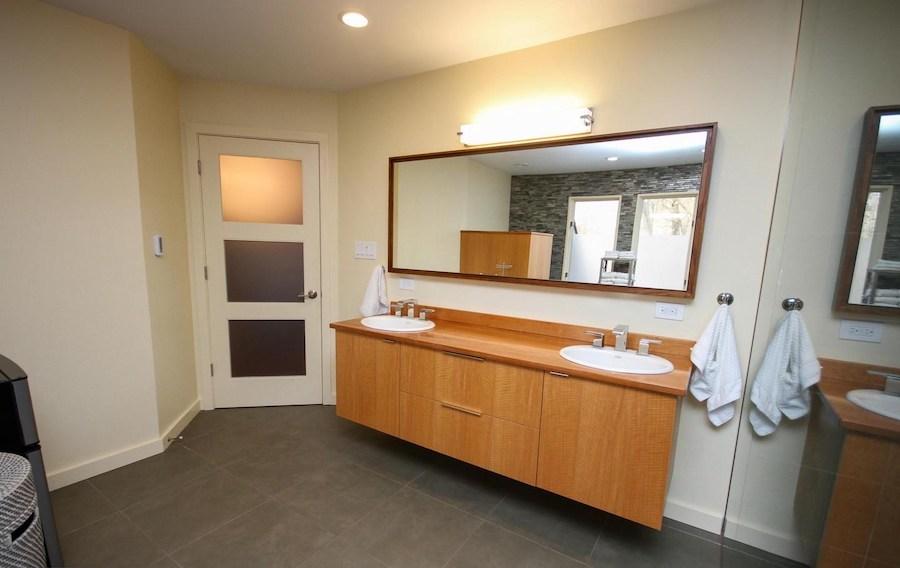 newtown square contemporary master bathroom
