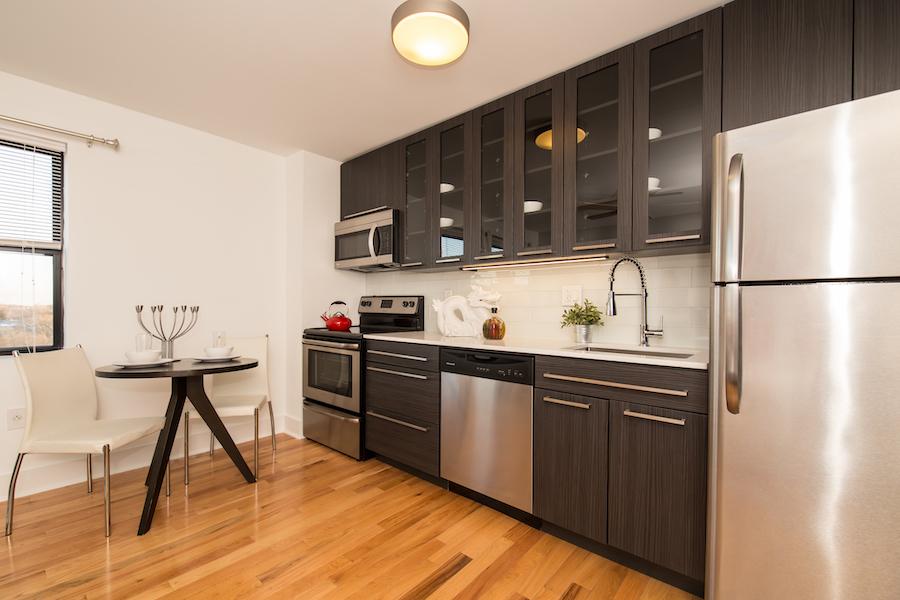 rittenhouse hill studio model kitchen