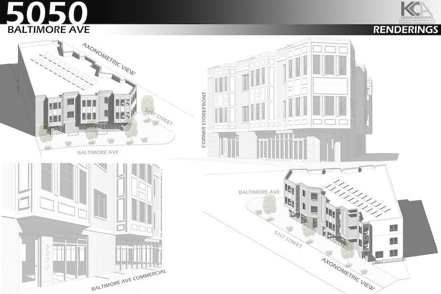 5050 baltimore avenue massing studies