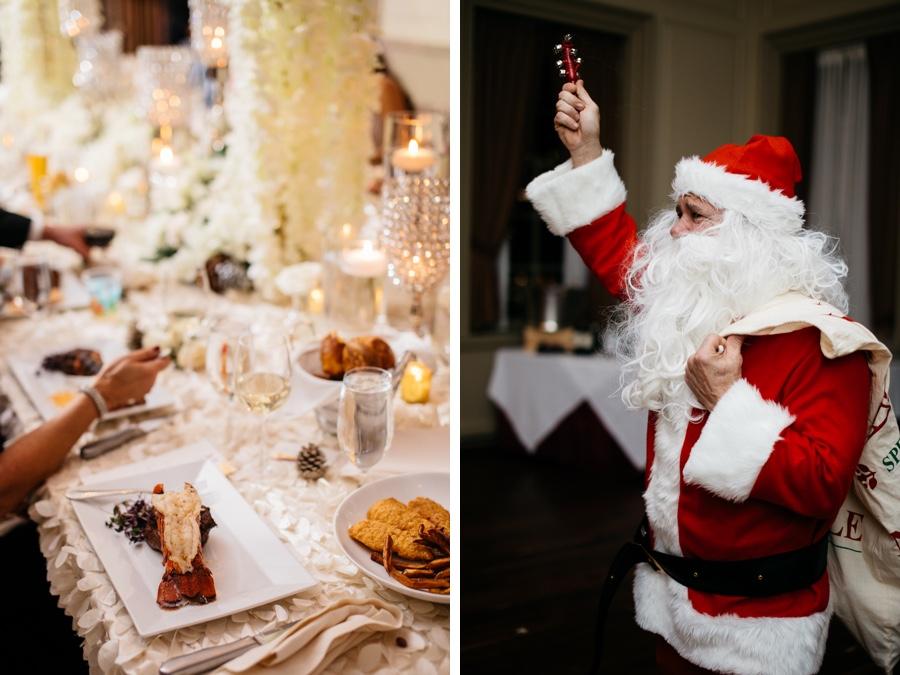 wedding santa