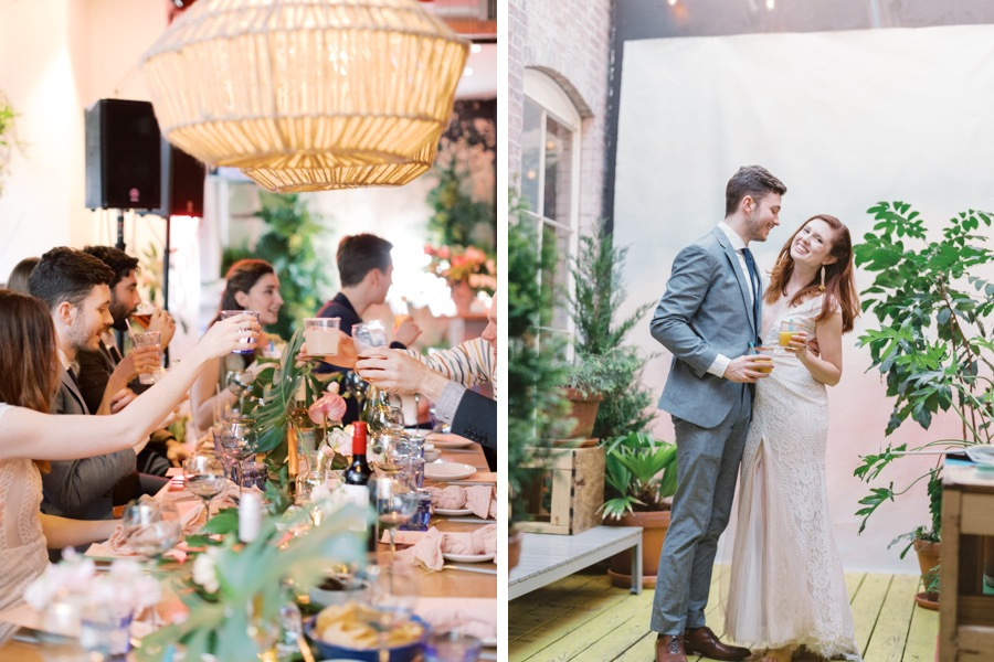 Mission Taqueria wedding reception