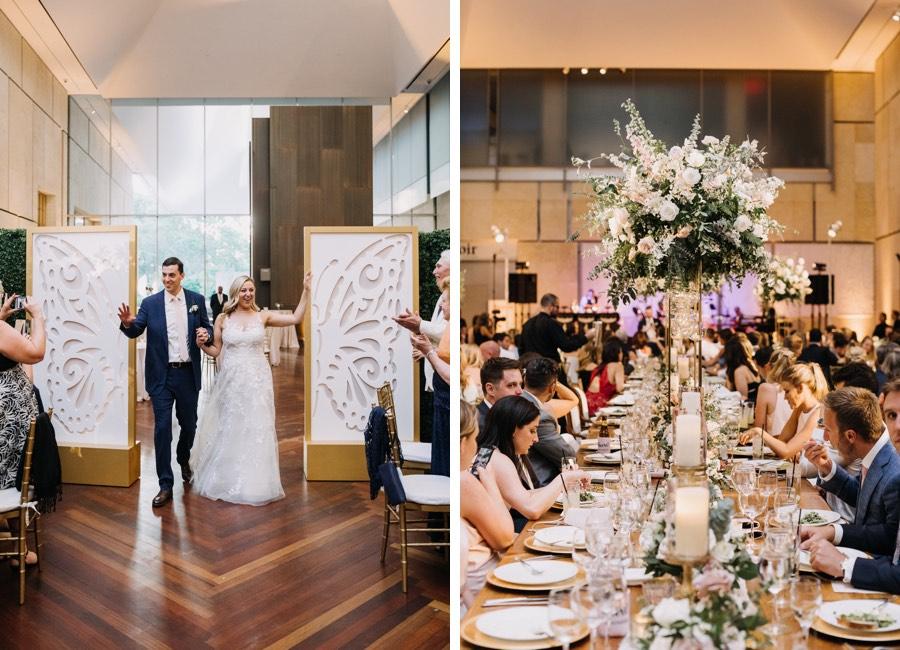 Barnes Foundation wedding