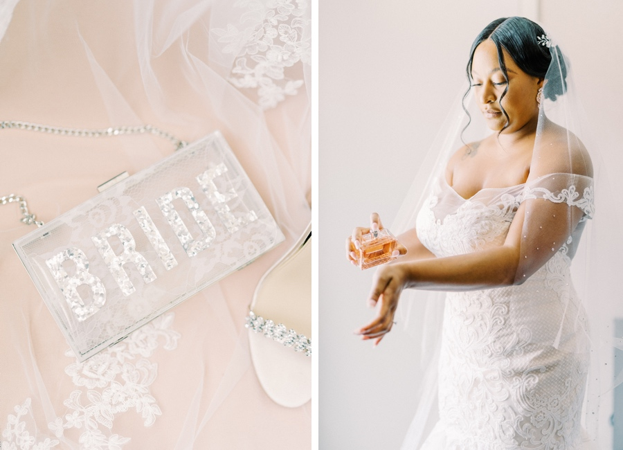 Bride purse