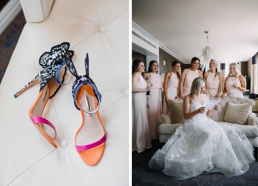 Butterfly heels