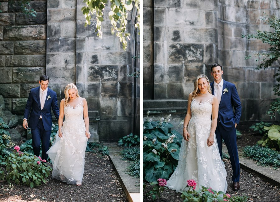 Philadelphia wedding portrait