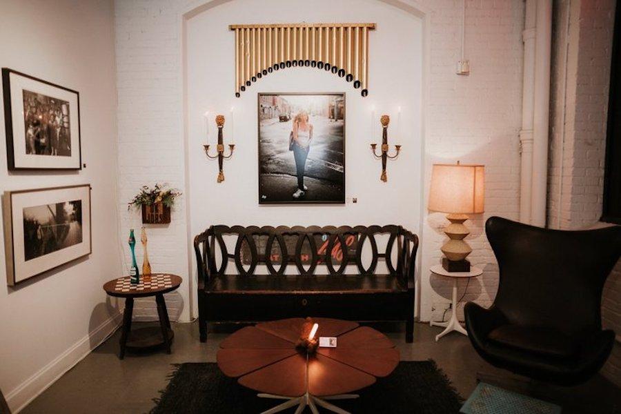 RareCo Vintage room arrangement at InLiquid Benefit 2019
