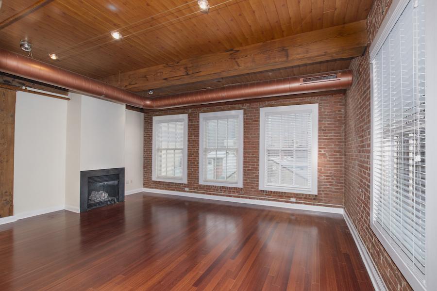 condo for rent rittenhouse square loft living room