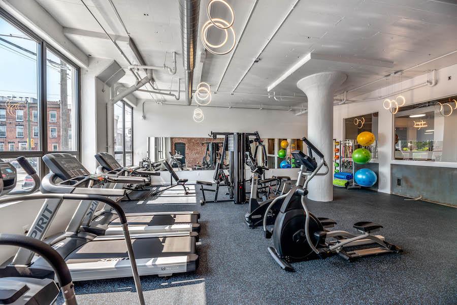 brush factory lofts fitness center