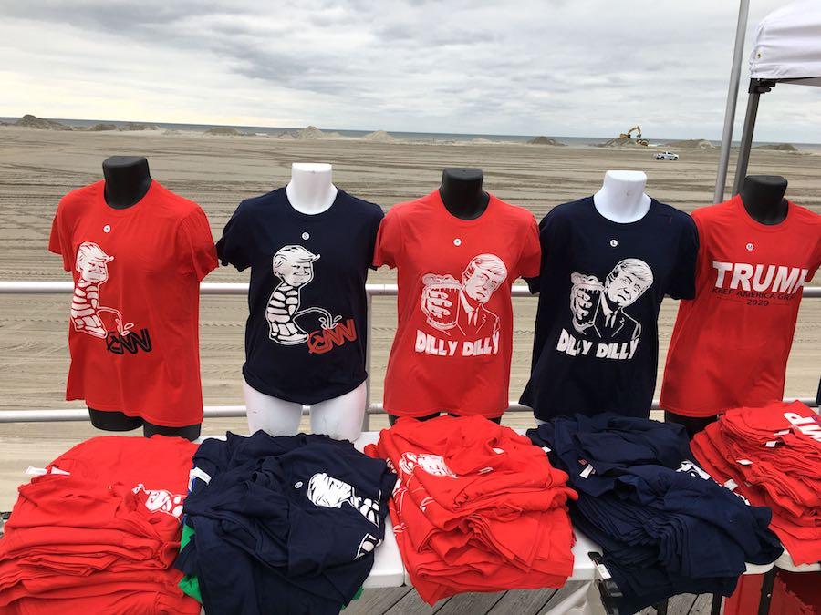 donald trump wildwood rally t shirts