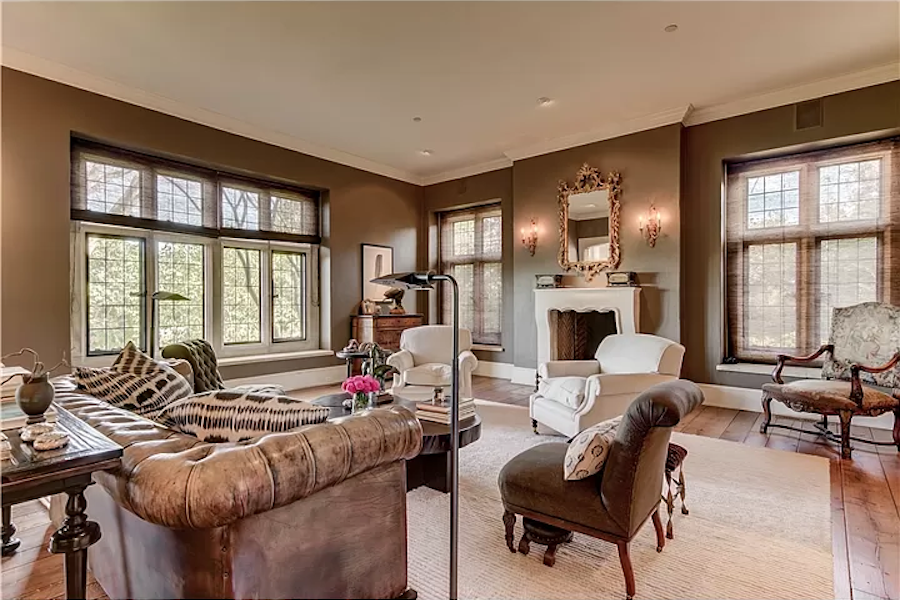 house for sale chadds ford cotswold manor living room