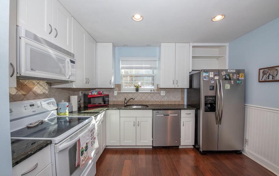condo for sale chesterbrook starter condo kitchen
