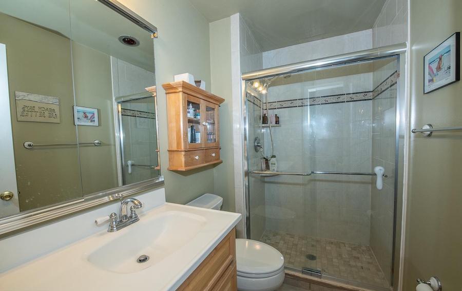 chesterbrook starter condo master bathroom