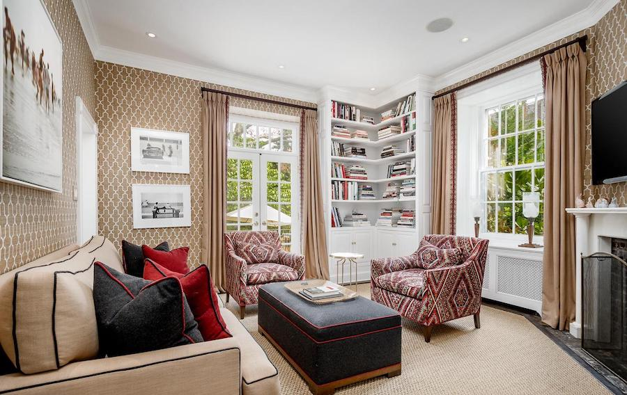 house for sale chestnut hill designer colonial study