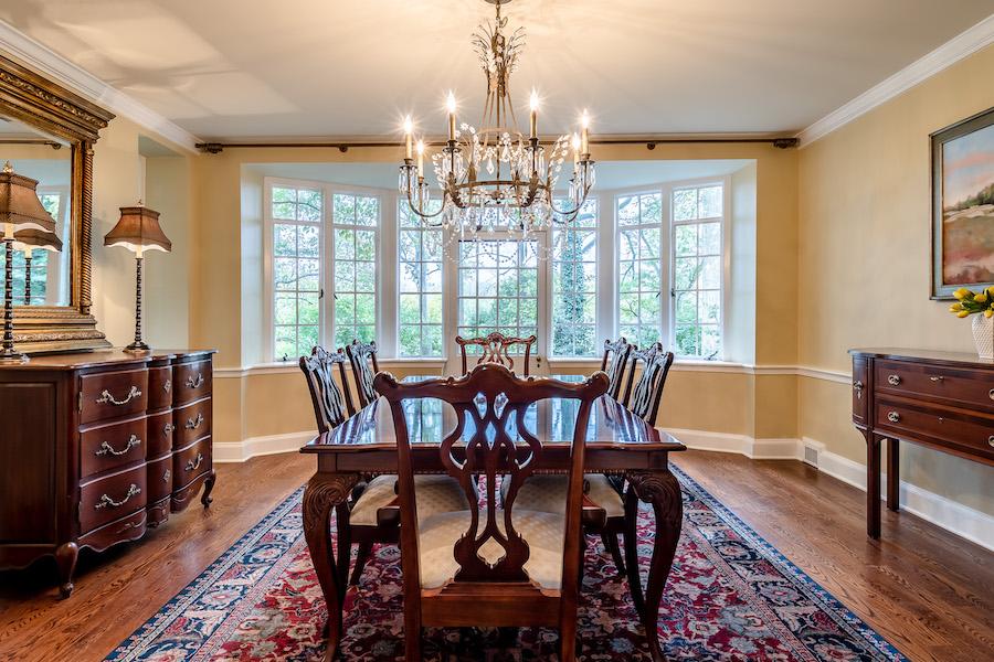 house for sale haverford emlen evans house dining room