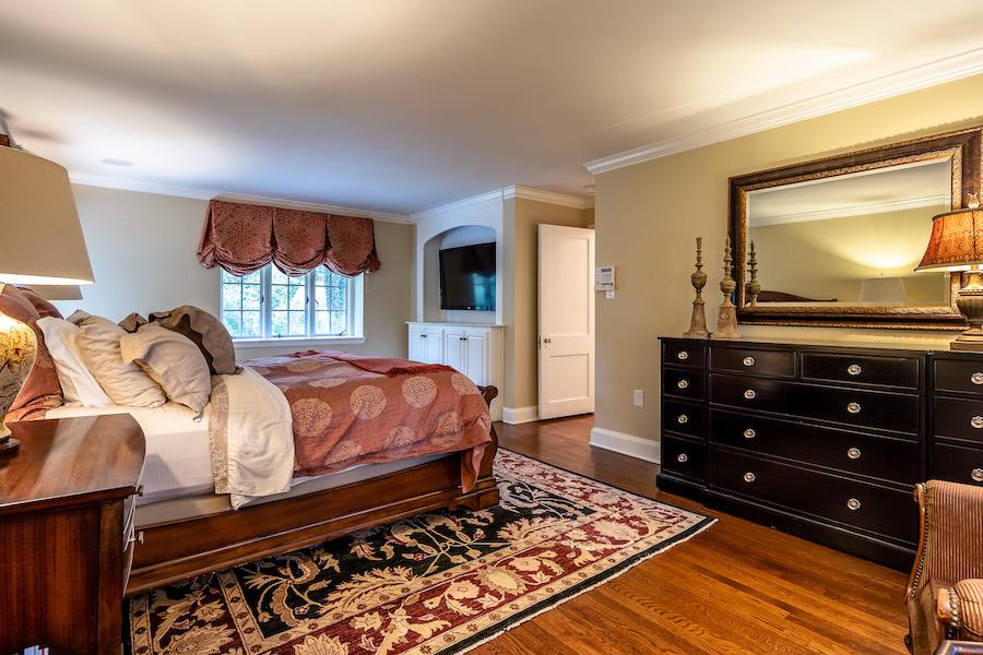 haverford emlen evans house master bedroom
