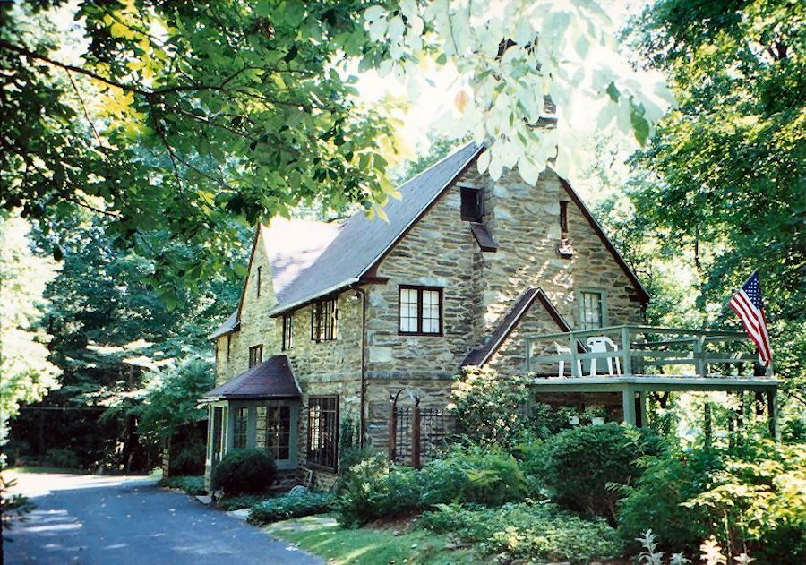 house for sale haverford emlen evans house exterior in the 1970s